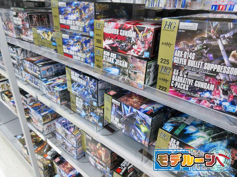 茨城県水戸市でガンプラ(プラモデル)を高額買取してもらうならば!
